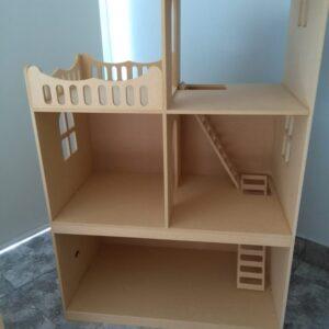 Casa para muñecas 72x45x120cm