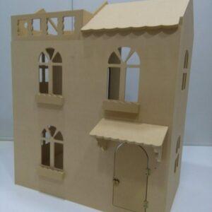 Casa para muñecas 72x52x86cm