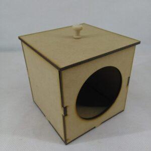 Caja para GALLETAS 10X10X10cm