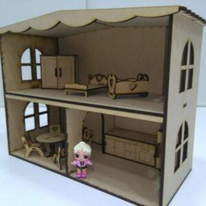Casa para muñecas LOL 47x20x36cm