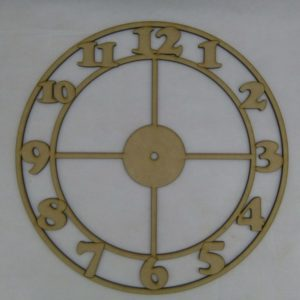Base para RELOJ Números Cooper. Diámetro 30cm