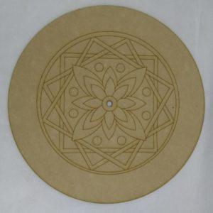 Base para RELOJ Mandala. Diámetro 30cm