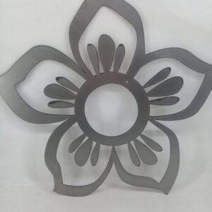 Flor en chapa MODELO 3