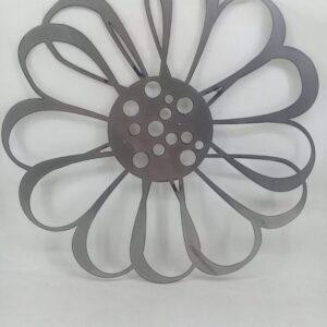 Flor en chapa MODELO 4
